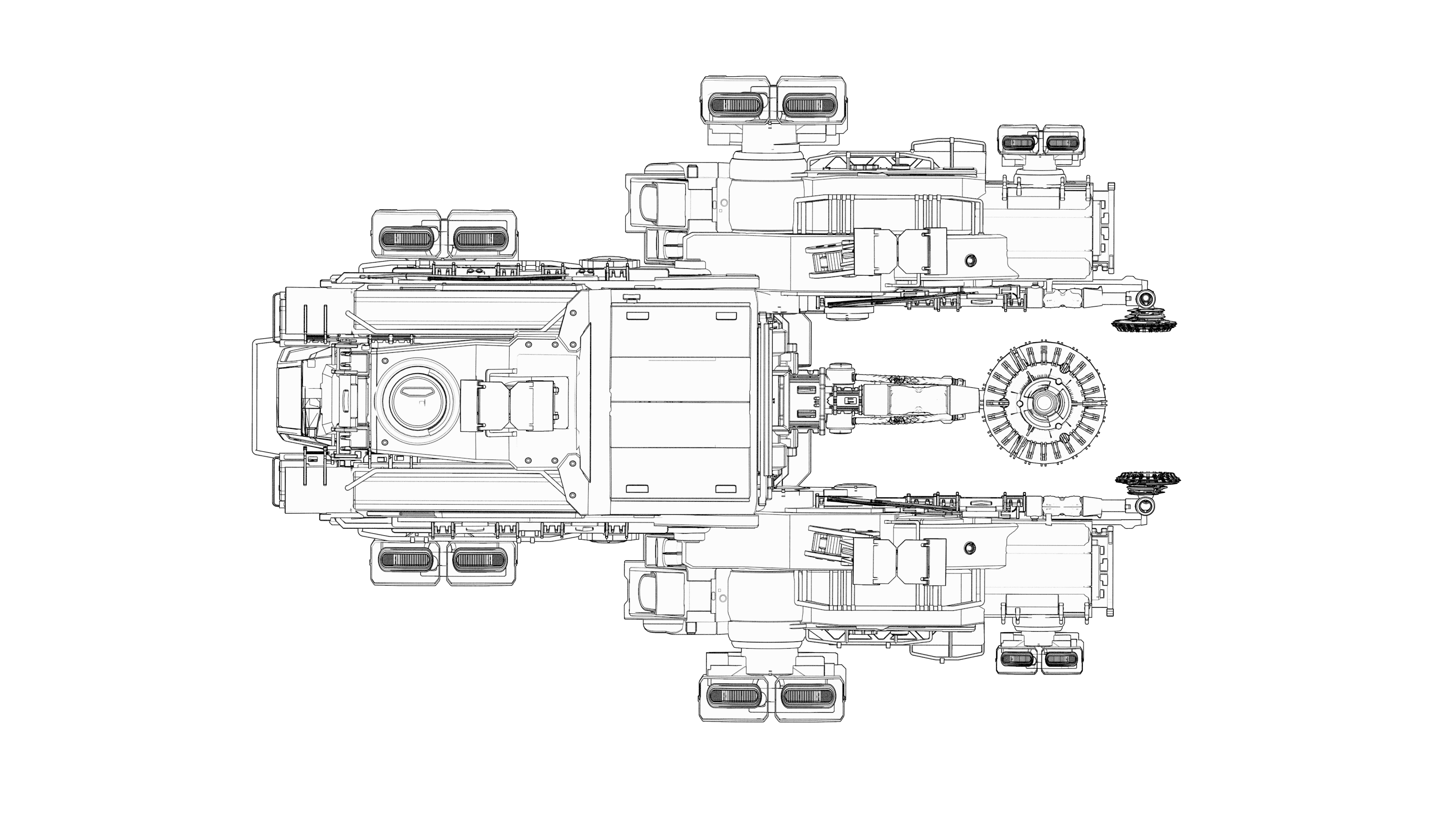 Front view of the Argo SRV