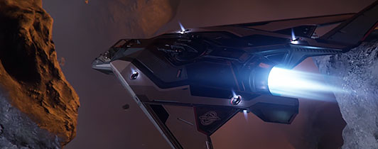 Picture of a ship from RSI