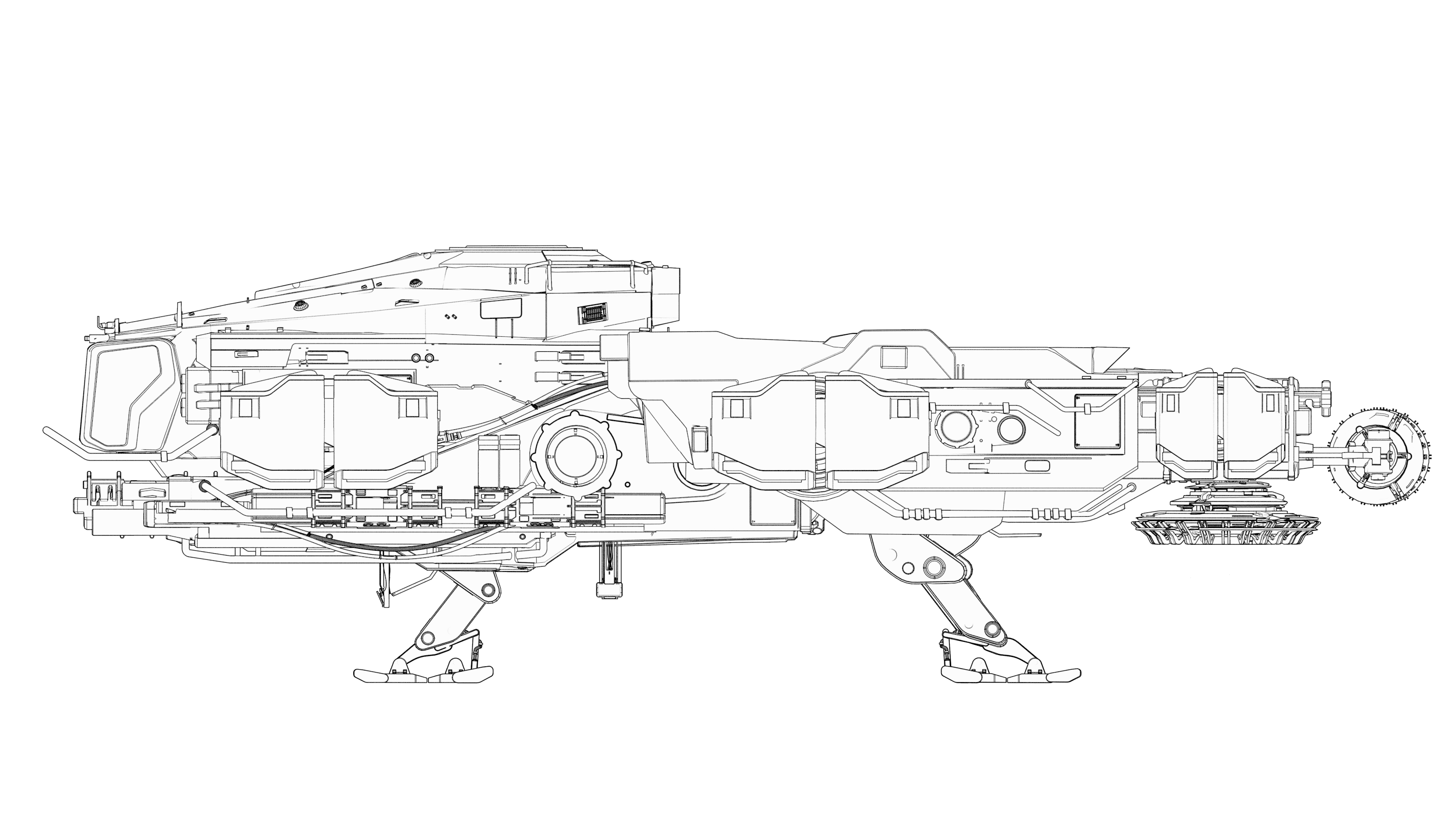 Side view of the Argo SRV