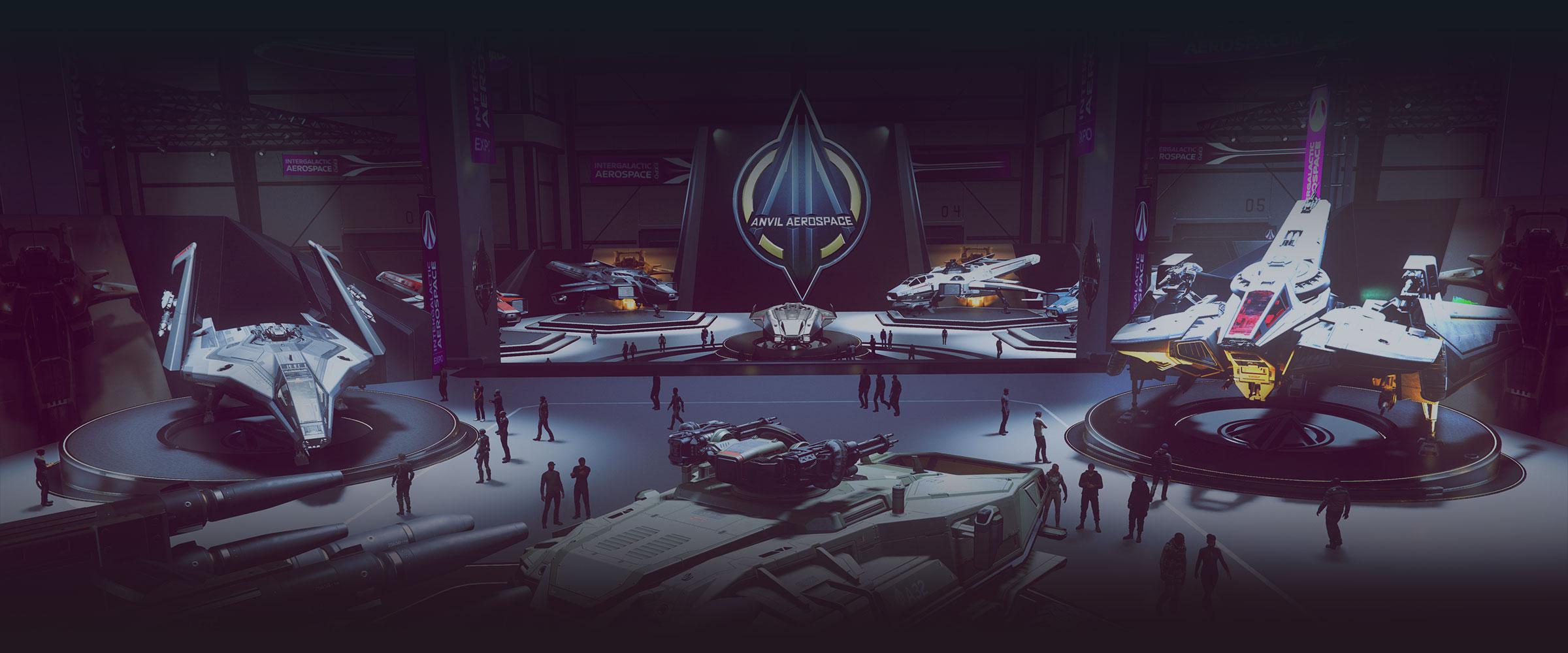 Intergalactic Aerospace Expo 2949 title image