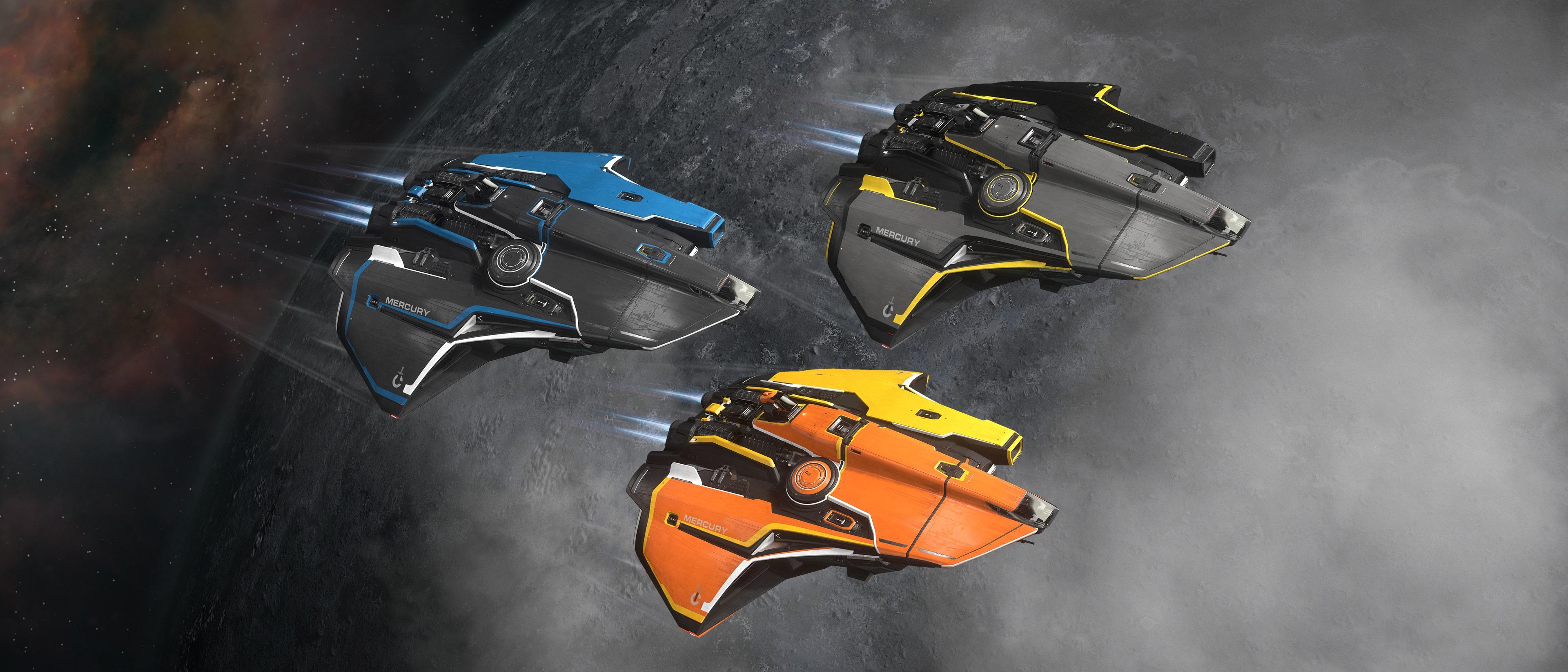 Mercury Star Runner Paints