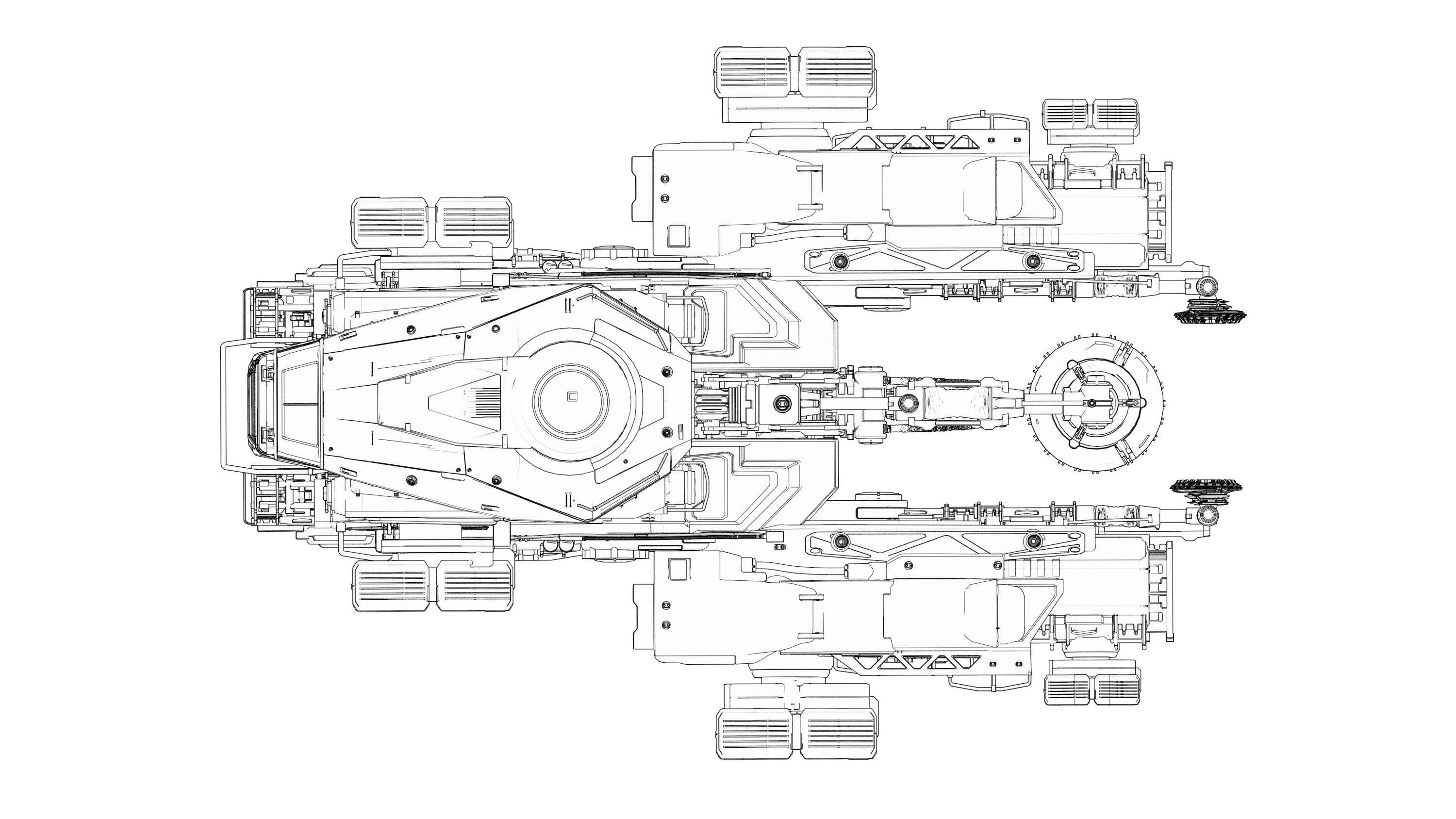 Top view of the Argo SRV