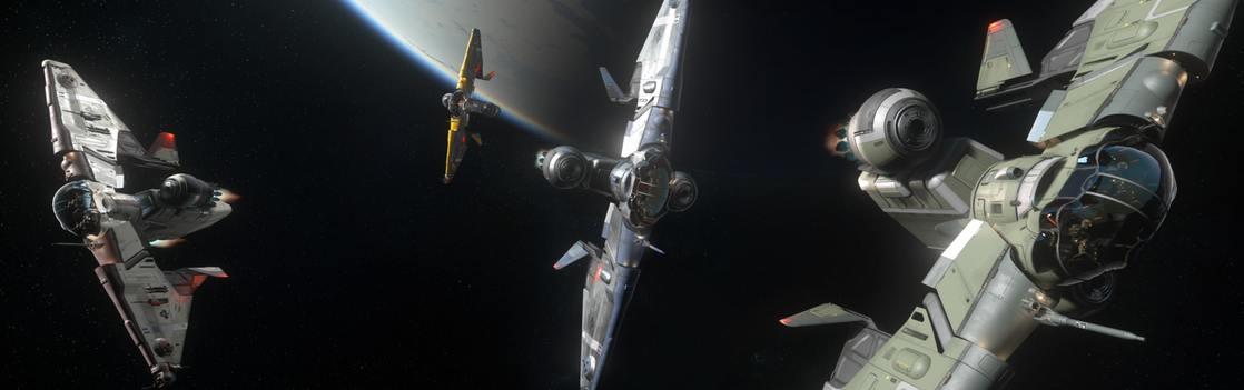 Корабли, доступные для полетов в Альфе 3.9